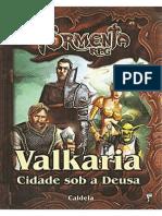 Tormenta RPG - Valkaria - Cidade Sob a Deusa