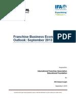 Third Quarter Franchise Forecast