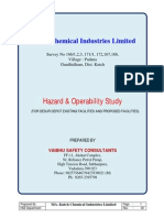 HAZOP STUDY Report (Kutch Chemical Industries Limited)