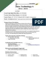 13-14 clark business technology a syllabus