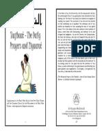Taqbiaat - The Daily Prayers & Ziaraat