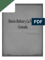 Unidad 3 Simón Bolívar y La Nueva Granada - Sara Sánchez Flórez