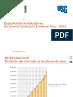 Especificacion de Sistemas Constructivos en Seco