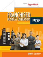 Franchise Business Ownership By Minority and Gender Groups