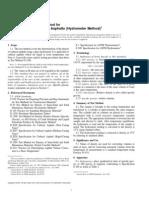 ASTM D 3142 – 97 Density of Liquid Asphalts (Hydrometer Method)