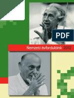 Nemzeti évfordulóink 2012
