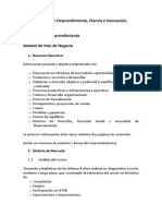 2009 08 04 Modelo Plan de Negocio SANTANDER