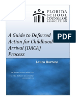 A Guide to Deferred Action for Childhood Arrival (DACA) Process