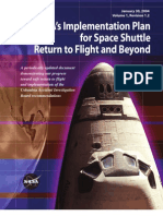 NASA Plan for Space Shuttle