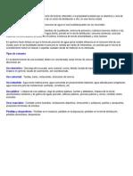 Consumo y Analisis Fisico, Quimico y Biologicos Del Agua Para Consumo