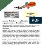 Ataque badalado e milionário do Timão é segundo pior do Brasileiro