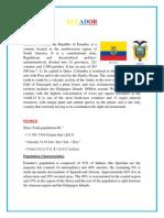 Ecuador en Ingles