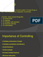 Controlling and Budgeting