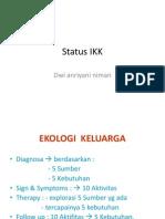 Status IKK Dwi Niman