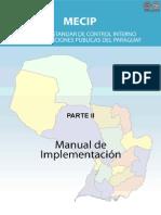 MECIP - PARTE II - MANUAL DE IMPLEMENTACIÓN - PARAGUAY - PORTALGUARANI