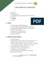 Lineamientos CV PRE DAN