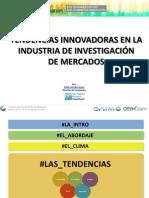 Congreso SAIMO-CEIM - Presentación Tendencias Innovadoras en Investigación de Mercados [SlideShare]