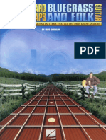 Fretboard Roadmaps Bluegrass and Folk Book