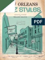 Gillock - New Orleans Jazz Styles