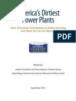America's Dirtiest Power Plants Report