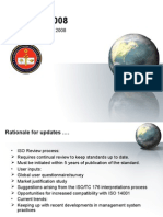 ISO 9001-What's new for 2008