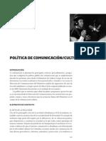 10 Politica Comunicacion Cultura