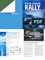 Blue Corridor NGV Rally 2013 Media Guide