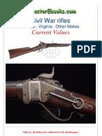 Civil War Rifles Sharps Virginia Other Makes