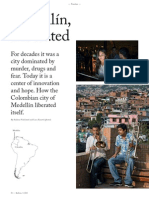 Medellín, liberated