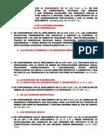 Rgto. de La Ley f.a.f. y e. 01