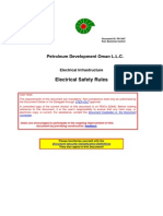 (Pdo Oman)Electrical Safety Specs.