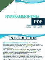 HYPERAMMONEMIA ppt