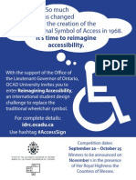 Reimagining Accessibility poster