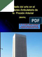 Estado Del Arte Del Monitoreo Ambulatorio de Presion