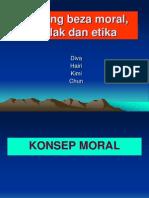 Moral Akhlak Etika