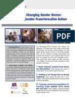 Advocacy Brief- Gender Norms