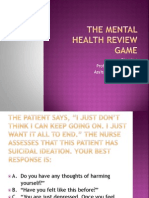 The Mental Health Review Game.ppt