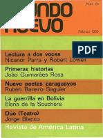 Mundo Nuevo 20 (1968)