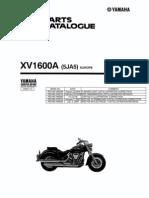 Parts Catalog XV1600A