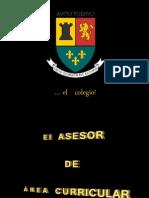 Los  asesores  de  las  áreas  de  conocimiento  y  la gestión  de  la calidad
