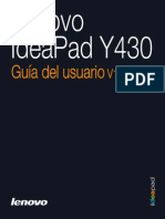 Lenovo IdeaPad Y430 User Guide V1.0(Spanish)_web
