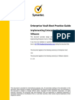 EV 10 Best Practice - Implementing Enterprise Vault on VMware (January 2012)