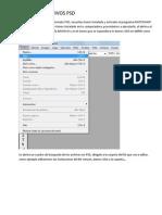 Editando Archivos Psd