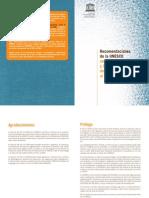 Recomendaciones de la UNESCO sobre la terminología y la redacción del material relativo al VIH y al SIDA