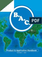 BAC Product & Application Handbook Vol 1 - 2005