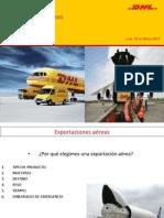 DHL Exportaciones Aereas