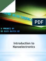 Nano Electronics presentation by Suyog S