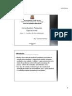 Aula 5 - Analise de Sensibilidade - Pesquisa Operacional