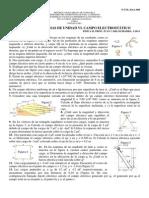 Guía unidad VI Campo electrostático