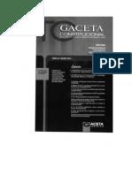El Derecho de Defensa de Las Comunidades Campesinas y Nativas en Los Procesos Judiciales Desde La Perspectiva Constitucional